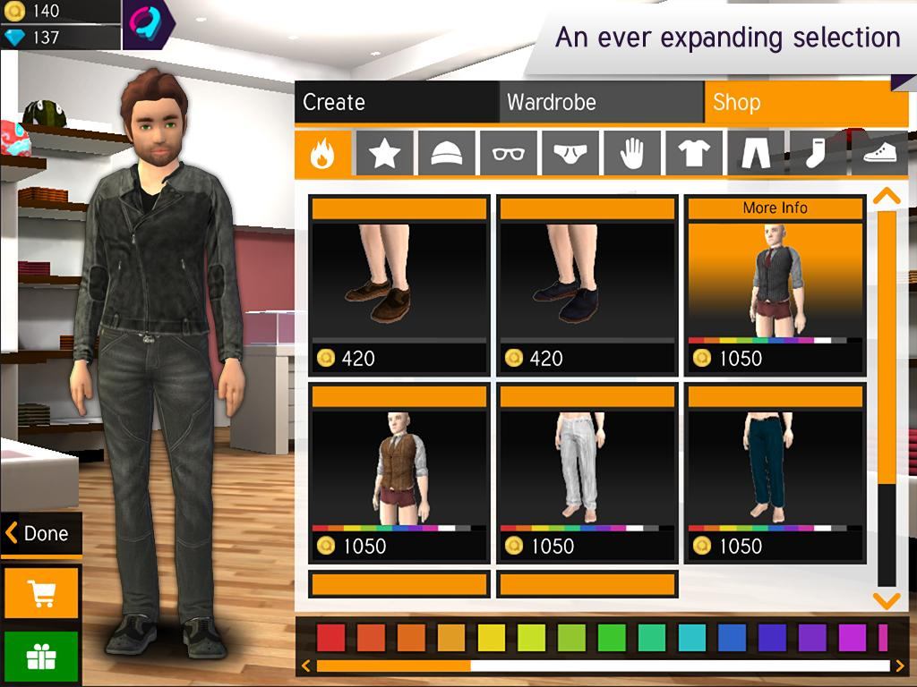 3d Character Design App : Avakin d avatar creator android apps on google play