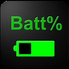 Pourcentage de la batterie icon