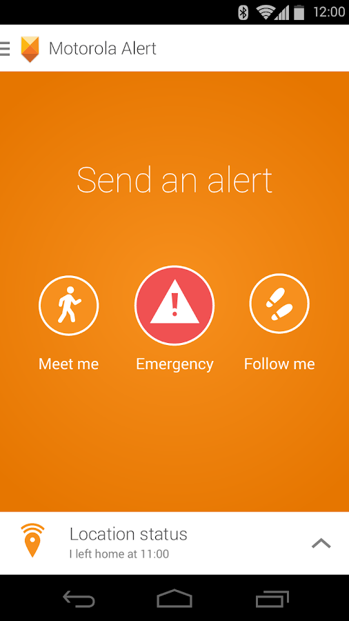 Motorola Alert- screenshot