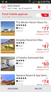 Hotelclub - hotel bookings - screenshot thumbnail