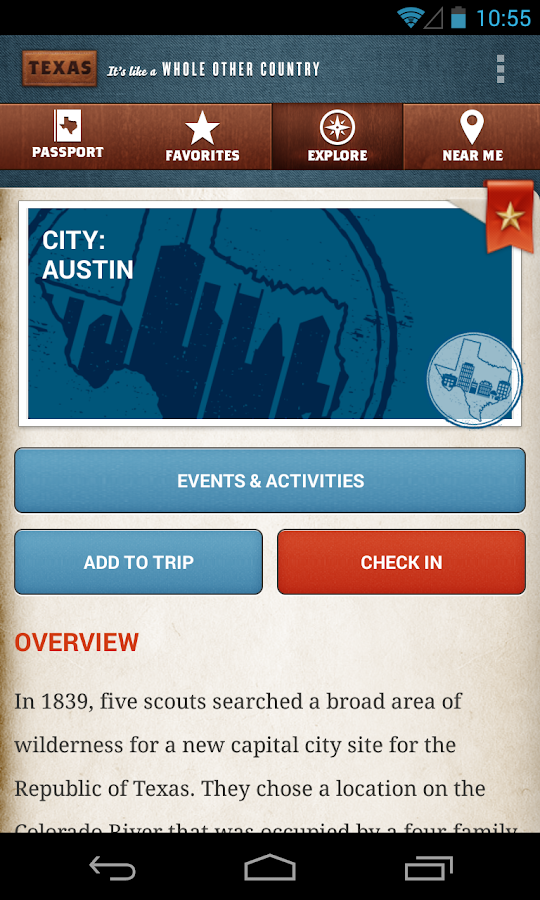 Travel Texas - screenshot