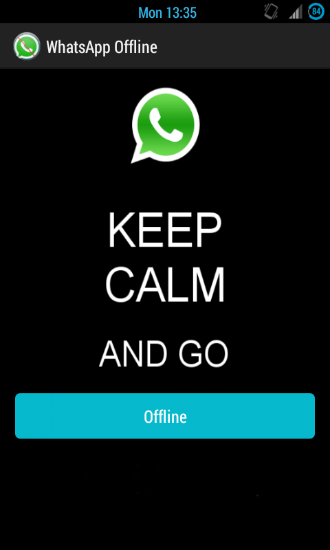 WhatsApp Offline - screenshot
