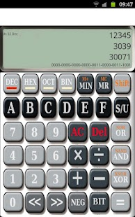 HexCalc Programmers Calculator - screenshot thumbnail
