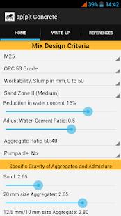 Concrete Mix Design Simplified screenshot