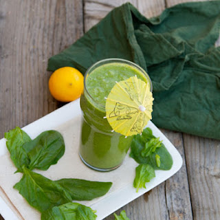 Green Monster Smoothie.