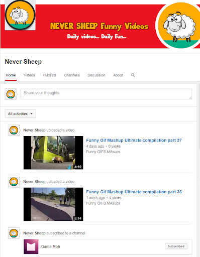 Never Sheep Funny Gif Videos