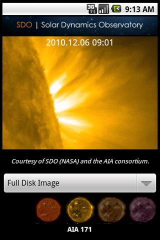 SDO: Solar Dynamic Observatory - screenshot