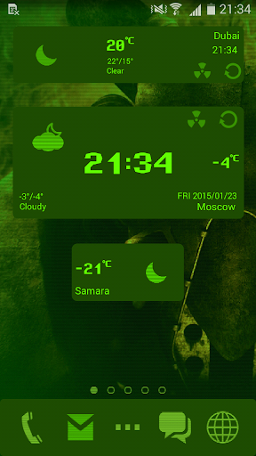 Nuclear Fallout 2k Go Weather