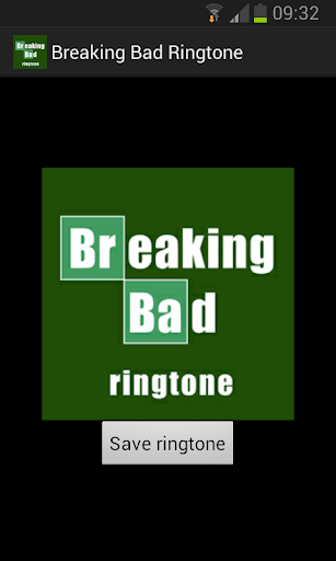 Breaking Bad Ringtone