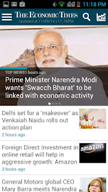 The Economic Times News Screenshot 1
