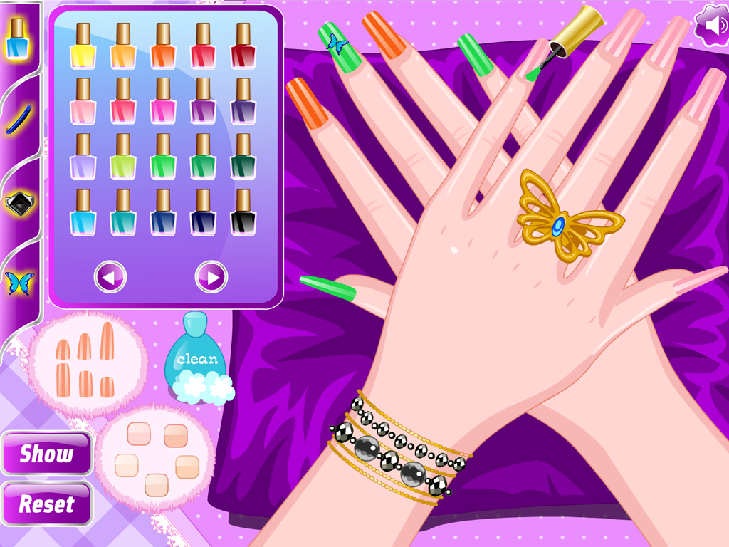 Nail Art Ideas barbie nail art games to play : Salon Nails - Manicure Games - Android Apps on Google Play