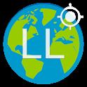 Latitude Longitude Coordinates icon