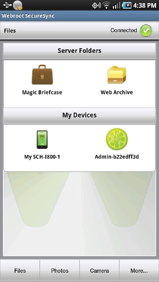 SecureAnywhere Complete - screenshot