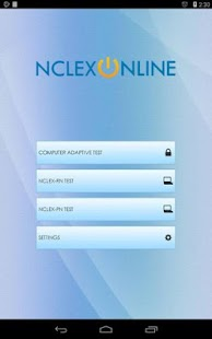 NCLEX Online Practice Exam- screenshot thumbnail
