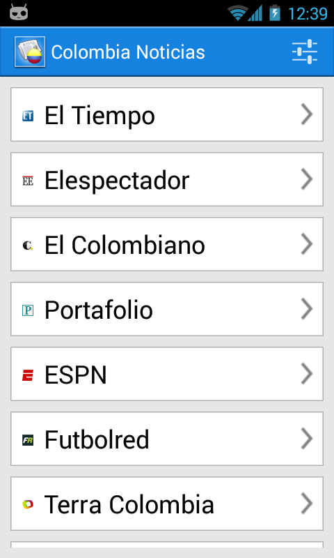 Colombia Noticias - screenshot