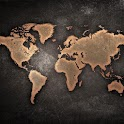 HD Wallpaper World Map icon