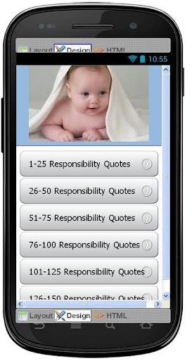 Best Responsibility Quotes