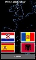 Screenshot of European Quiz