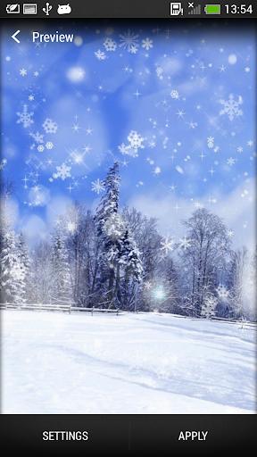 雪花 動態壁紙