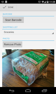 Our Groceries Shopping List - screenshot thumbnail