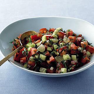 Chopped Arabic Salad.
