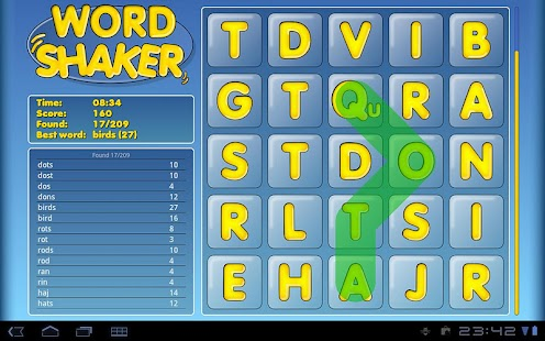 Word Shaker Free - screenshot thumbnail