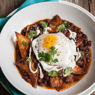 Gluten Free Black Bean Chilaquiles