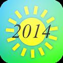 Summer 2014 Countdown icon