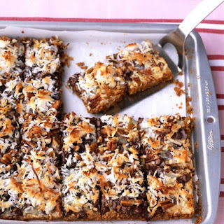 Chocolate-Coconut Bars.