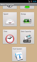Screenshot of Metric Conversions