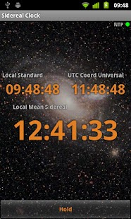 Sidereal Clock- screenshot thumbnail