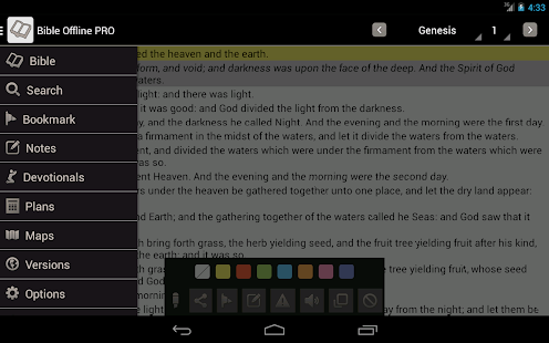 Bible Offline - screenshot thumbnail