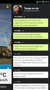tumeteo BCN- screenshot thumbnail