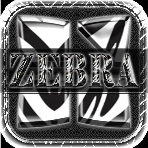 Next Launcher 3D Theme Zebra