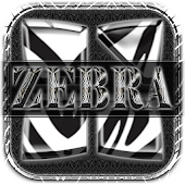 Next Launcher 3D Theme Zebra