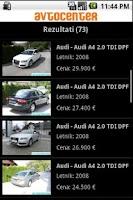 Screenshot of avtocenter.si