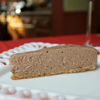 "Low Fat Chocolate ""Cheesecake"" Pie (105 calories!)"