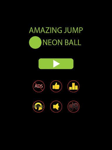 Amazing Jump Neon Ball