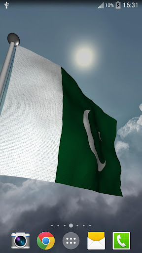 Pakistan Flag + LWP