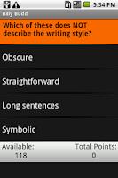 Screenshot of Billy Budd: Shmoop Guide