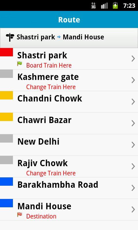 Delhi Metro- screenshot