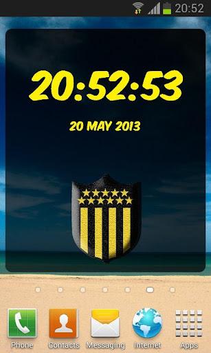 Peñarol Digital Clock