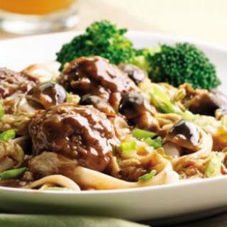 Szechuan Braised Meatballs