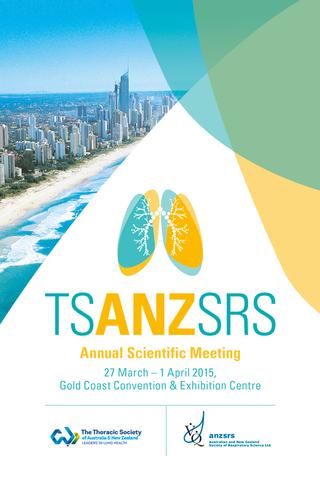 2015 TSANZSRS Meeting