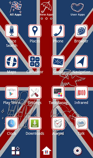 Chic Wallpaper Britain Pop 1.1 Windows u7528 2