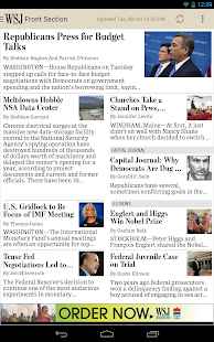 The Wall Street Journal: News Screenshot 21