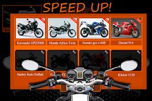 Screenshot of Motorbike Sounds Pro