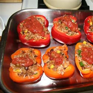 Fiesta Stuffed Peppers.