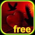 HEART LIVE WALLPAPER HD free icon
