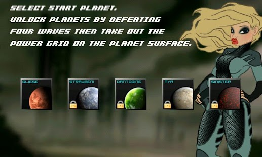 Sinister Planet - Asteroids - screenshot thumbnail